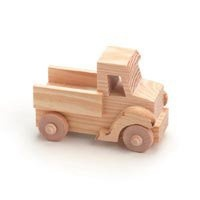 Cute wooden pick up truck for centerpieces