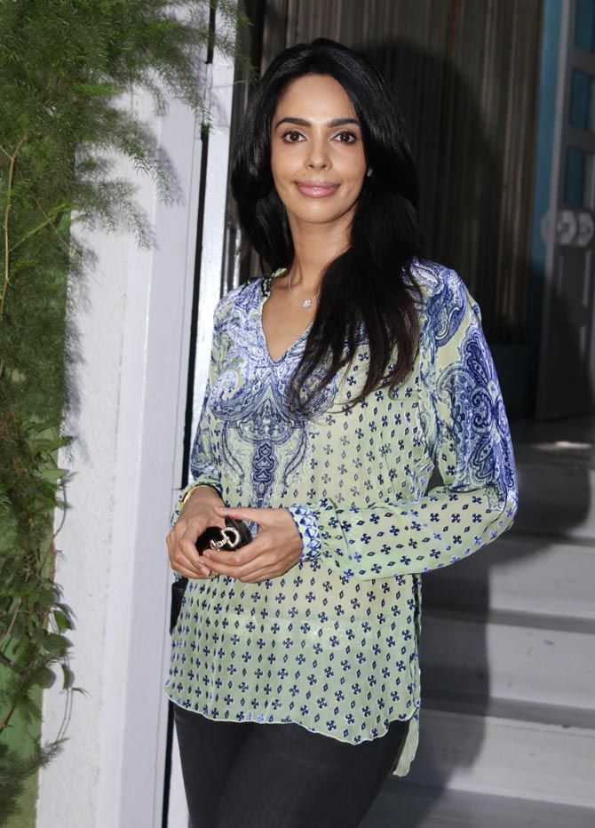 Mallika Sherawat spotted in Bandra. #Bollywood #Fashion #Style #Beauty #Hot #Sexy