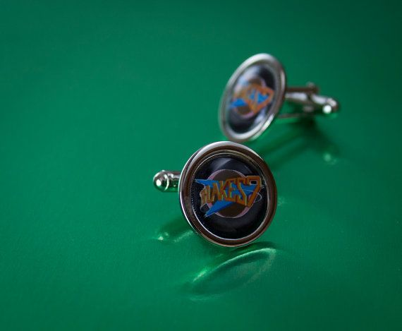 Set of Blakes Seven Cufflinks by UnofficiallyOriginal on Etsy