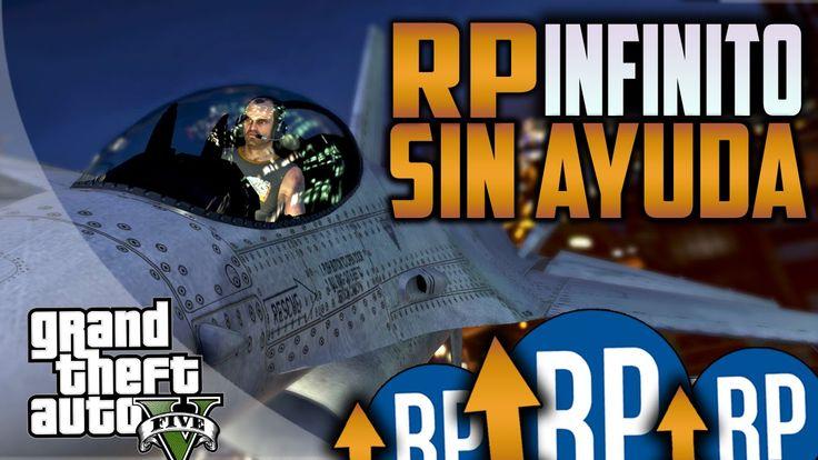 TRUCO RP INFINITO GTA V ONLINE 1.20 SIN AYUDA!! Subir nivel rápido sin a...