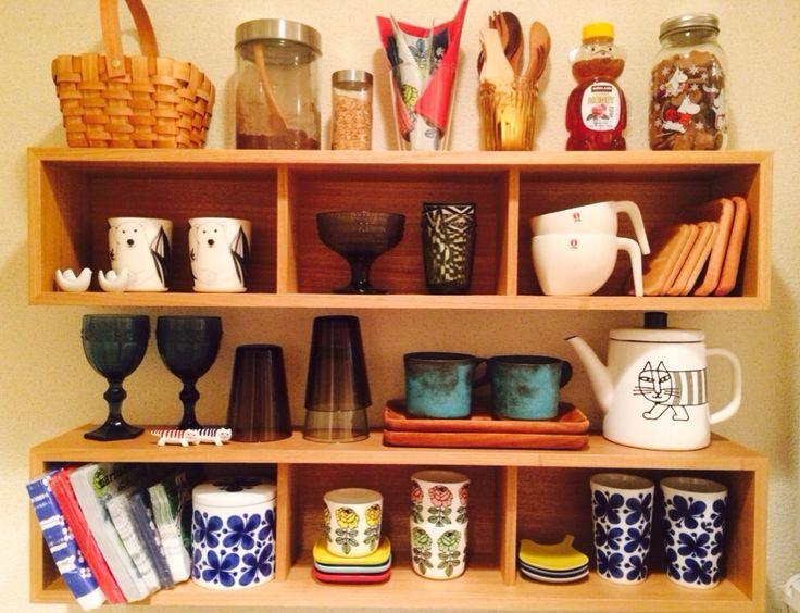キッチン棚☆お気に入り食器の整理・・・と無印週間に欲しい物☆ | kiki - 楽天ブログ
