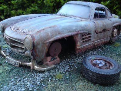 Mercedes Benz 300SL Gullwing Barn Find