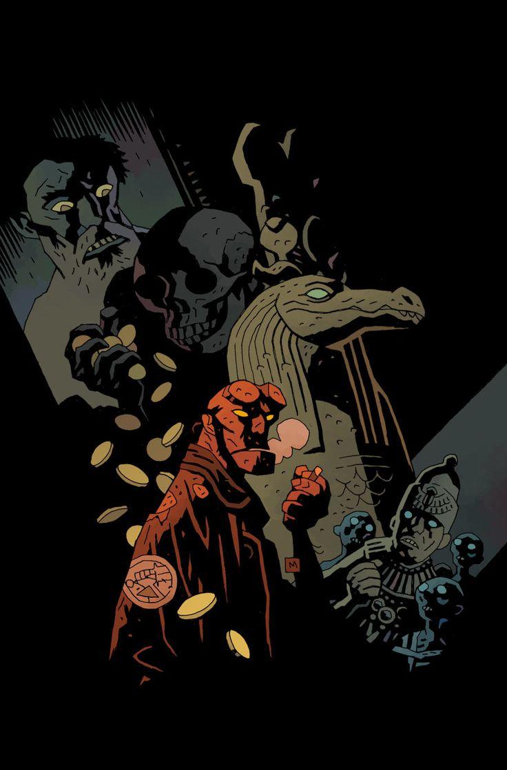 hellboy and beasts of burden