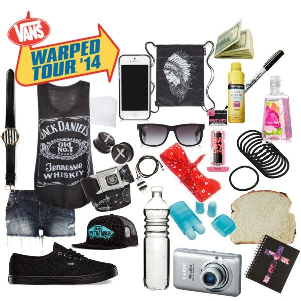Warped Tour 2014  Polyvore: DreamOrDropDead