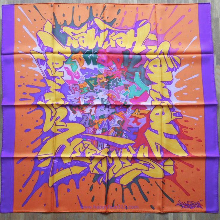 :-) HappyFace313 - Hermès Graff by Designer Cyril Kongo Phan :-)