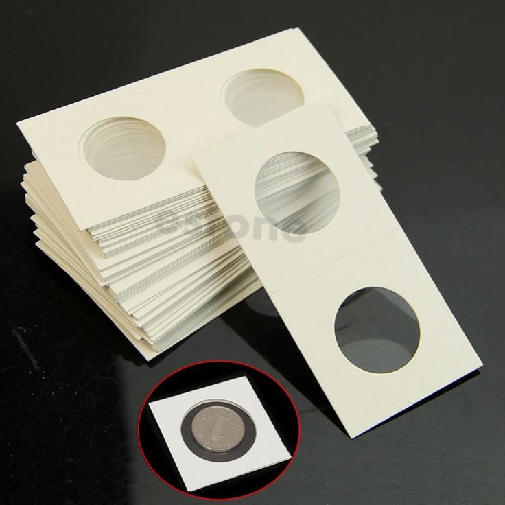 """50x Caso de la Cubierta De Almacenamiento Titulares de Coin Sello Faro 2X2 """"Flip 23mm HXP001"""
