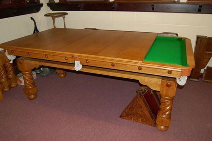 Elegant Combination Pool Table Dining Room Table 4 Poker Pool