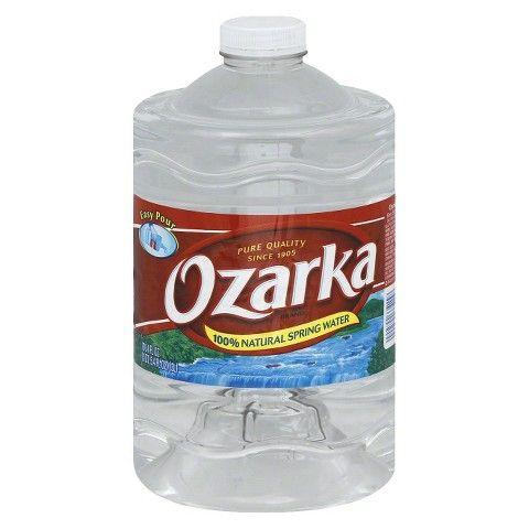 $1.02 Ozarka Natural Spring Water 101 oz