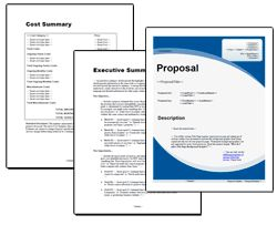 Proposal Pack for Government Grants - Editable and customizable templates designed for you to brand with your own logo. Includes a library of cover designs, a library of sample proposals, grant writing manual and Wizard software to get you started right away writing any kind of proposal, quote, report or other business document. Hundreds of other designs also available only from ProposalKit.com (come over, learn more and Like our Facebook page to get a 20% discount)