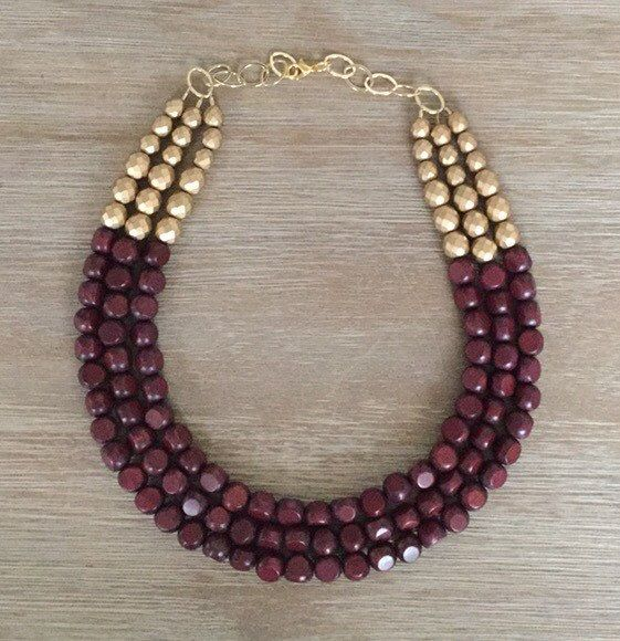 Pantone Color of 2015 The beautiful Marsala color is a gorgeous rich red-brown The perfect color combo!! Its made of Marsala Color Hand-Painted