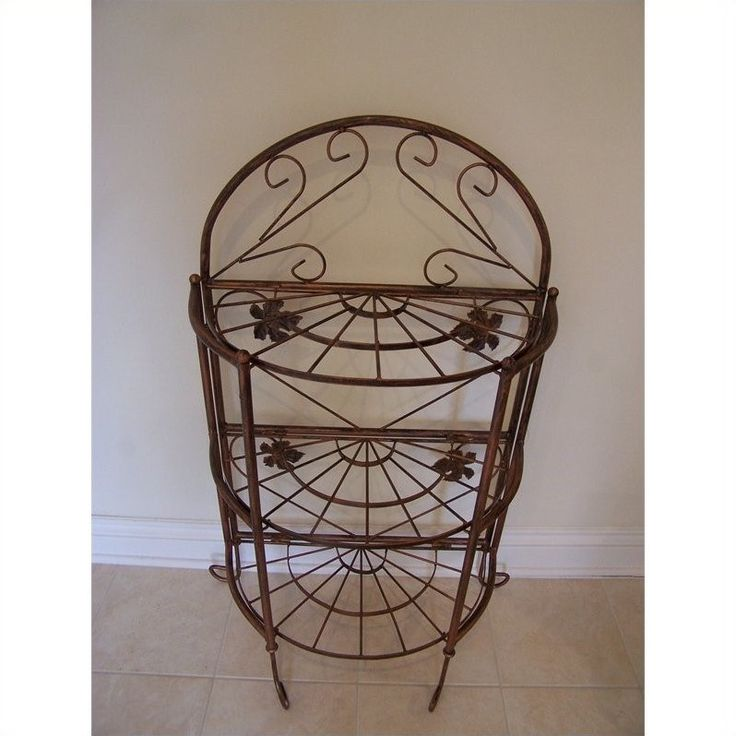 Lowest price online on all Oakland Living Sundance Bakers Rack in Antique Bronze - 5305-AB