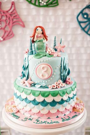Mermaid Birthday Party Ideas | Photo 7 of 39 | Catch My Party
