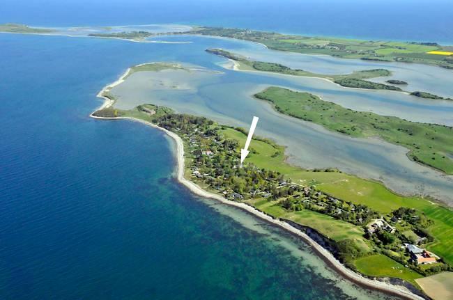 Nice place in Denmark for a summerhouse, -looks a bit like Bay of Islands in New Zealand