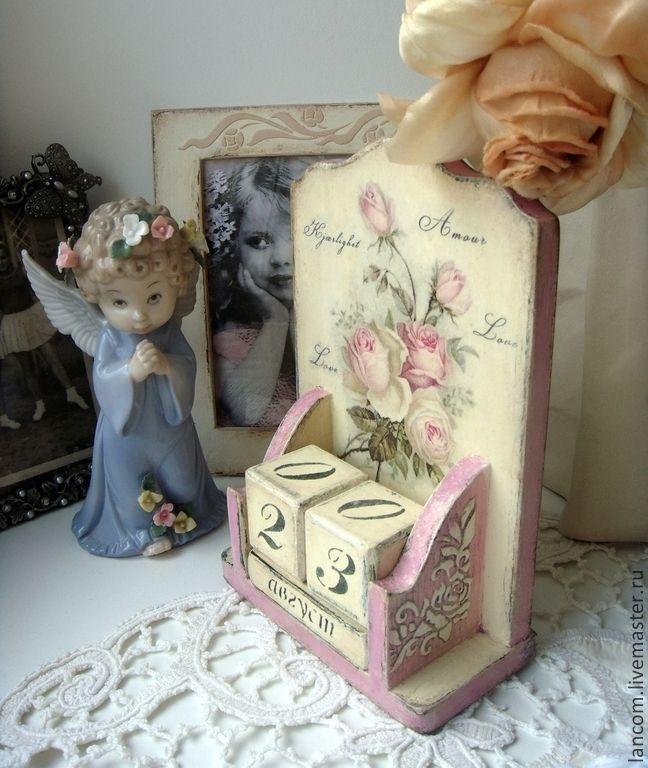 """Купить Вечный календарь """"Свадебный букет"""" - розовый, вечный календарь, розы, любовь, свадьба, фотосессия"""