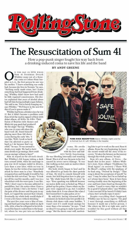 SUM 41 ♡ sum41 comeback Singer, Punk rock, Comebacks
