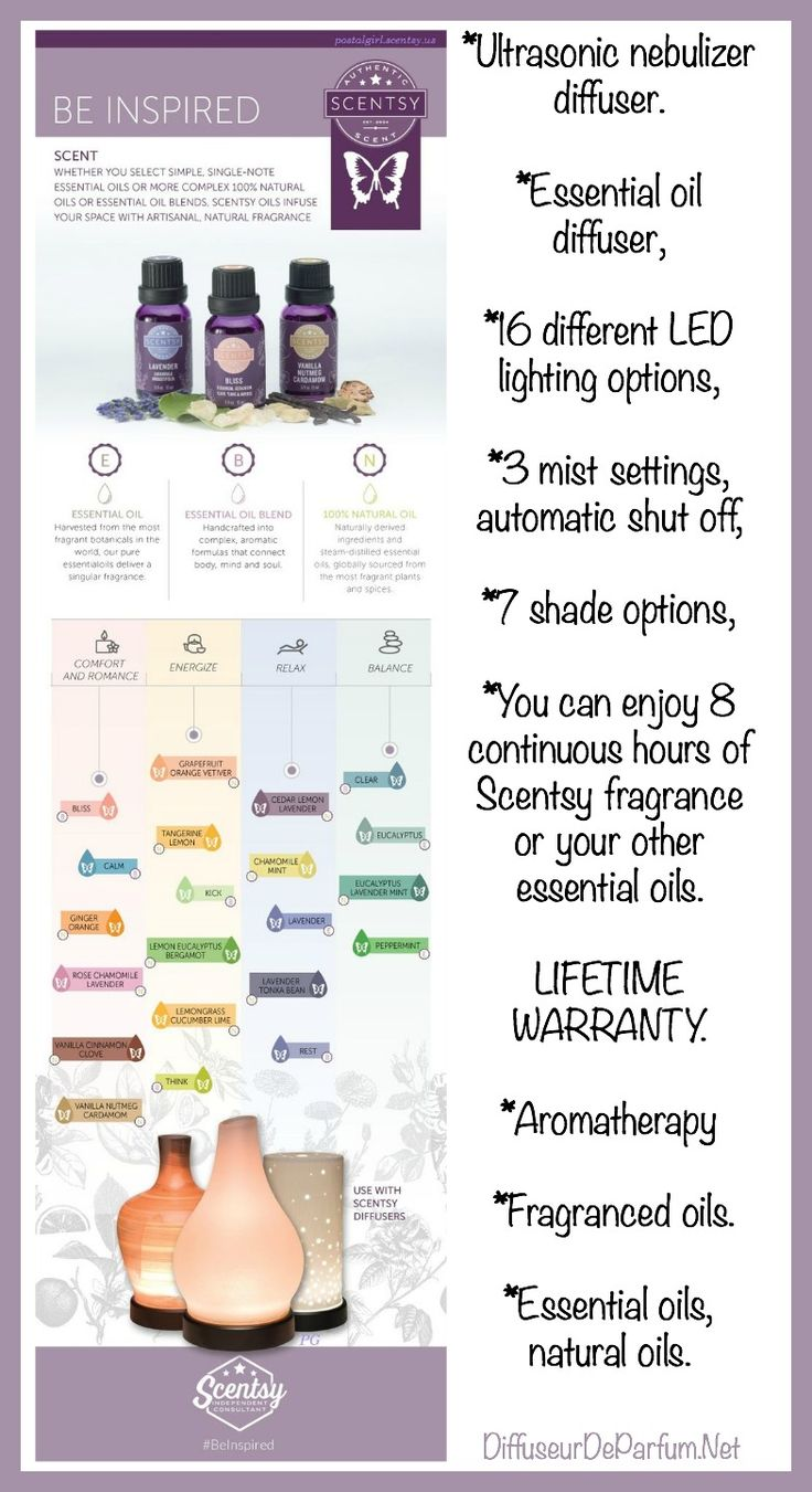 How to choose Scentsy Essential oils  and Scentsy 100% Natural oils or Essential oils blends to get maximum #Aromatherapy results.  Oil blends to diffuse  for  sleep, relaxing, energy, calm or concentrations etc #Diffuser #EssentialOil