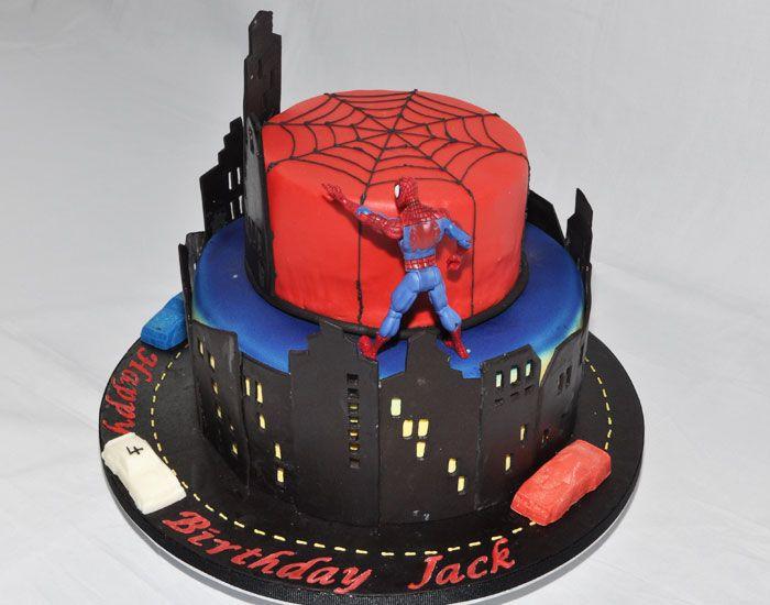 7 best Emaris Birthday Cake images on Pinterest Spiderman birthday