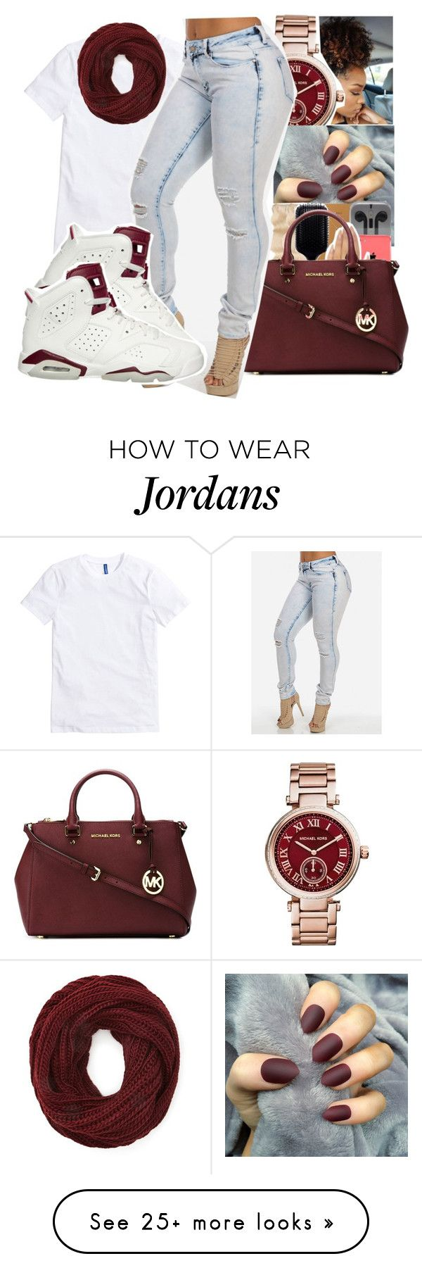 """"""""""" by itssaiv0y on Polyvore featuring Michael Kors, Forever 21 and MICHAEL Michael Kors"""