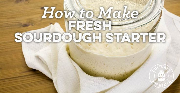 Learn how to bring your refrigerated starter out of hibernation and make fresh sourdough starter that is active and ready to leaven your baked goods.