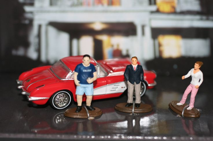 Animal House - 1959 Corvette and 3 Characters – Modelmatic