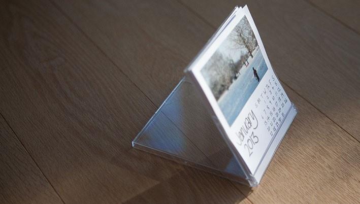 DIY CD calendar