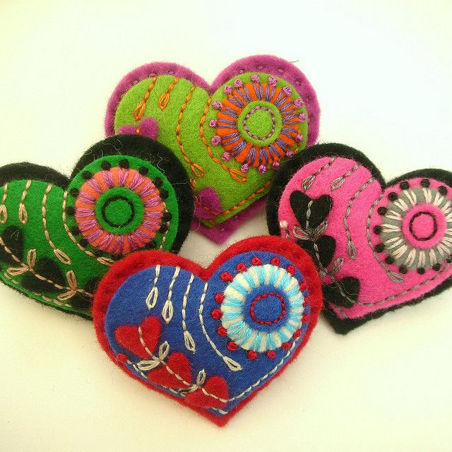 HEART FELT BROOCHES FOR MOTHERS DAY! | Flickr – Compartilhamento de fotos!