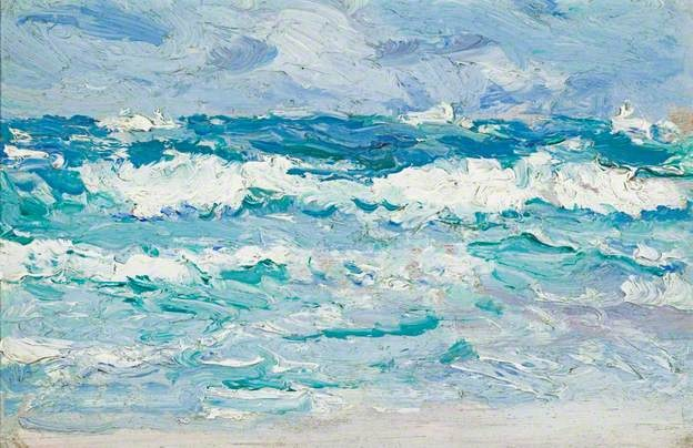 Waves, c. 1903 by Samuel John Peploe (1871–1935)