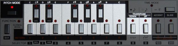 tinyloops.com - Programming the Roland TB-303 - Quick Results