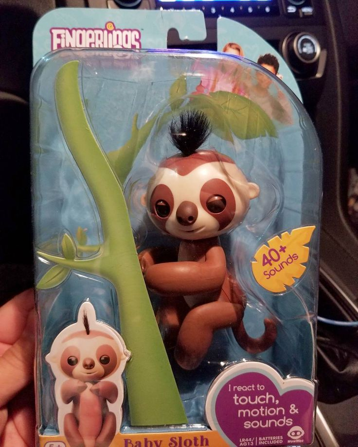 Have a couple #SLOTH #FINGERLINGS for sale hit me up ill hook it up with a good price