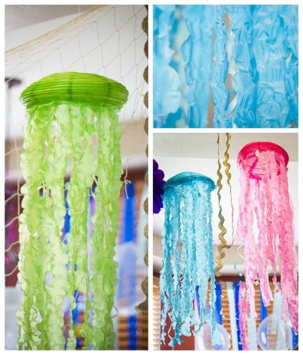 Amazing Under the sea/mermaid party - DIY Lantern jellyfish by vilma