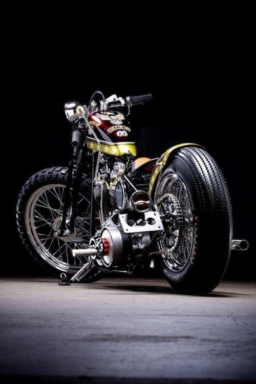 Shovelhead custom bobber #Motorbike| http://beautifulmotorbikesgallery.13faqs.com