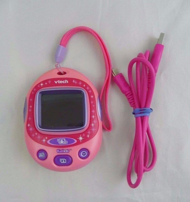 Vtech Kidilook Digital Photo Viewer Preschool Kids Digital Photo Frame Pink #Vtech