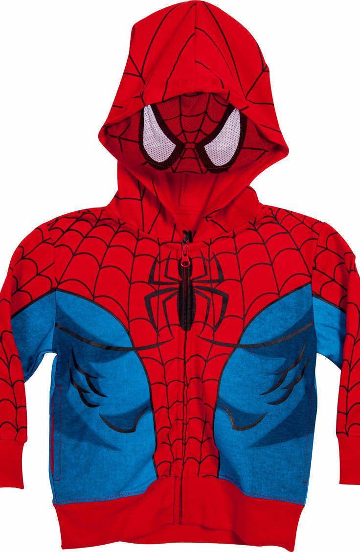 Toddler Spiderman Costume Hoodie