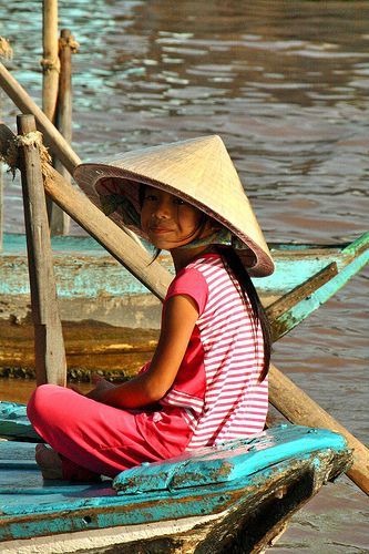 Mekong child. Vietnam