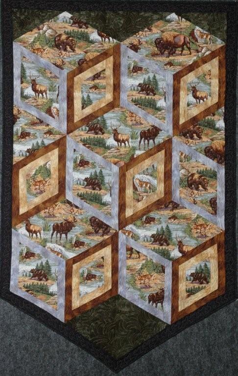 Best 25+ Wildlife quilts ideas on Pinterest | Panel quilts, Fabric ... : wildlife quilt fabric - Adamdwight.com