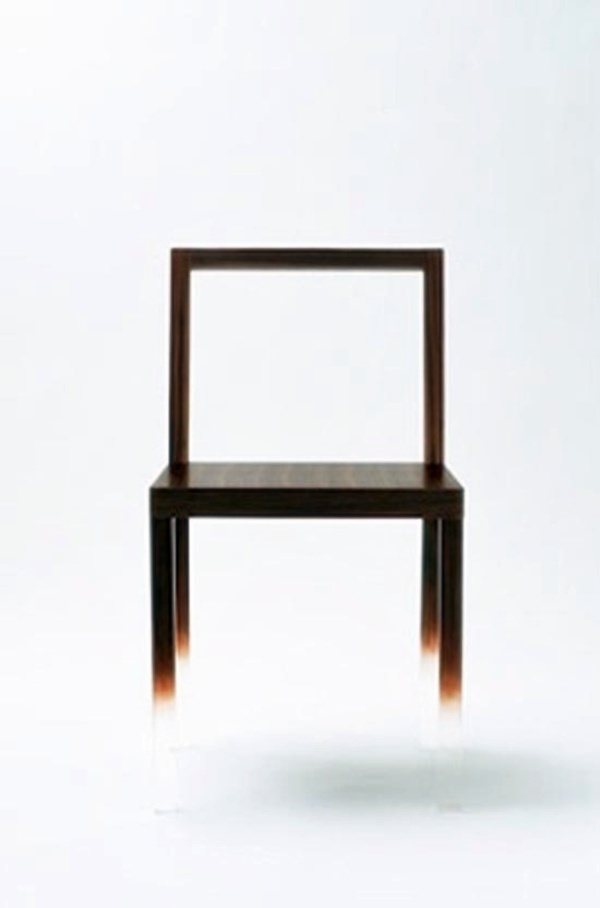 Fade out Chair - japanese design by NENDO