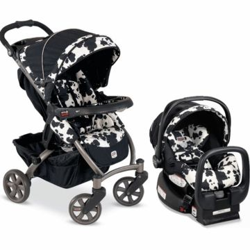 Seriously tho-- this IS an essential! :) :) Britax Chaperone Travel System - Cowmooflage