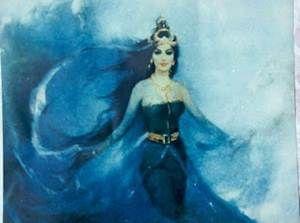 Kababitak -Percaya atau tidak, Lukisan tentang Ratu Kidul pernah dikeramatkan oleh penghuni sebuah lokalisasi pekerja seks komersial, ent...