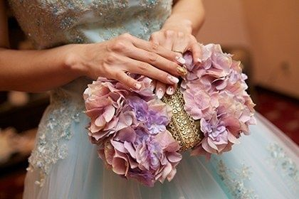 クラッチバッグブーケの画像 | Wedding in BigIsland