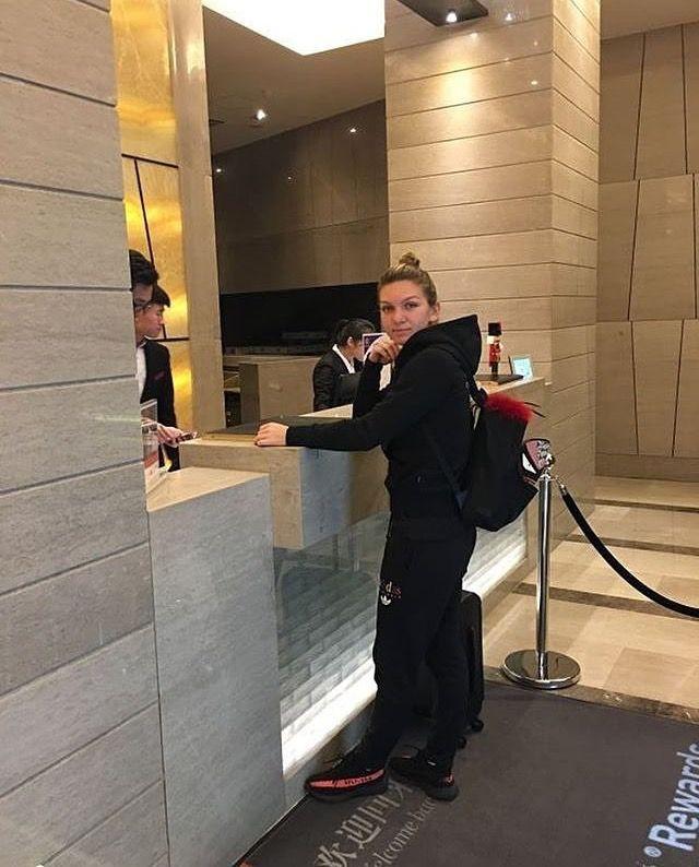 Simona arrived in Shenzen