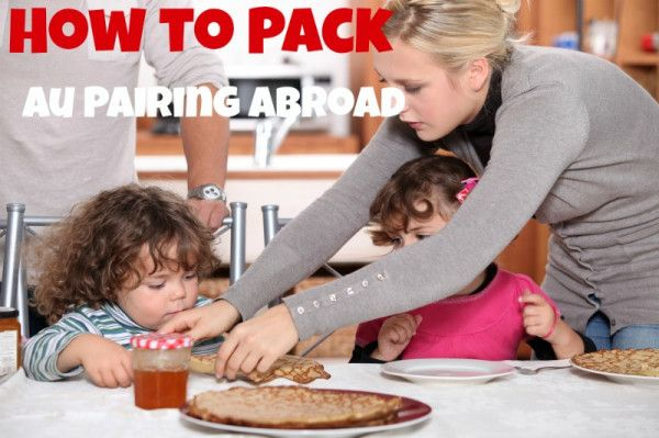 How to Pack When You're Au Pairing