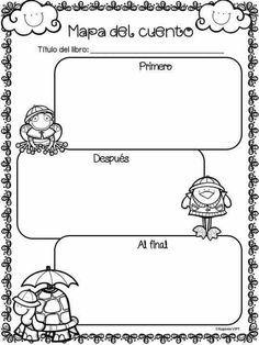Resultado de imagen para imagenes de ejemplos de mapas de cuentos para preescolar colorear