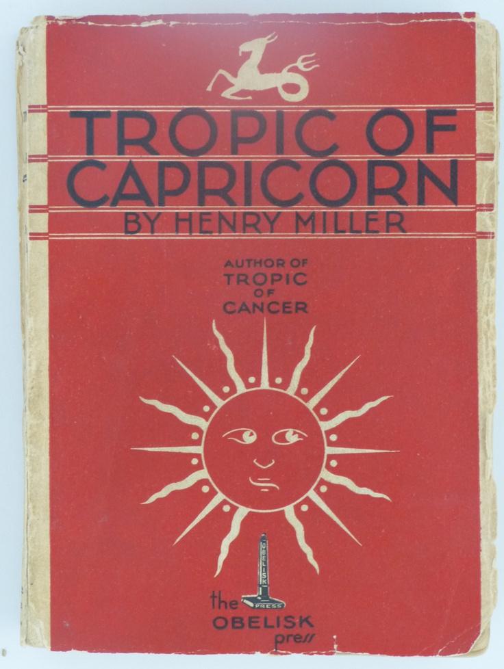 tropic of capricorn book review