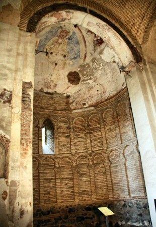 Abside cristiano de la Mezquita musulmana en Toledo