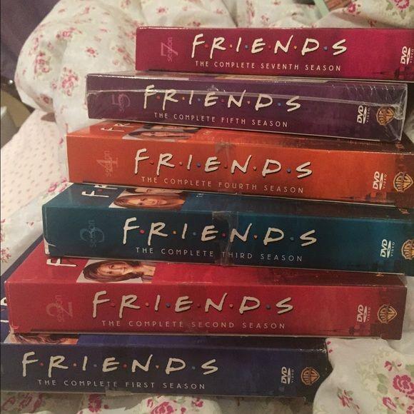 FRIENDS SEASON 1-7 (no Season 6) sans 2.2 disc Seasons 1,2,3,4,5 & 7 missing disc 2 of season 2 :(. Willing to sell seasons separately Sony Other