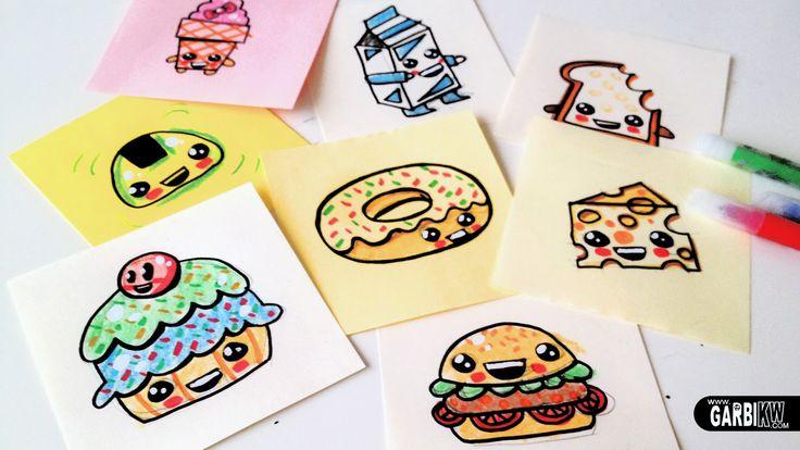 Tutorial c mo dibujar comida bonita dibujos sencillos y - Dibujos sencillos ...