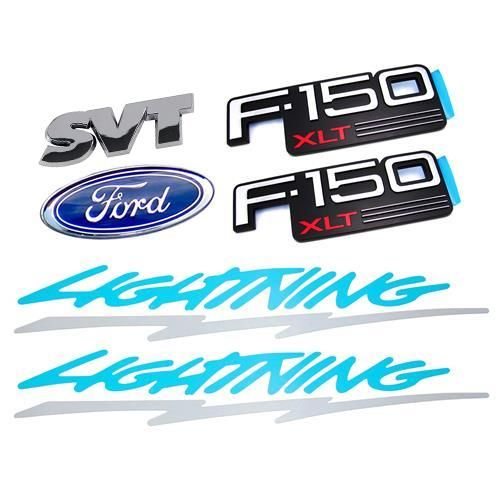 94 Ford Lightning Decal