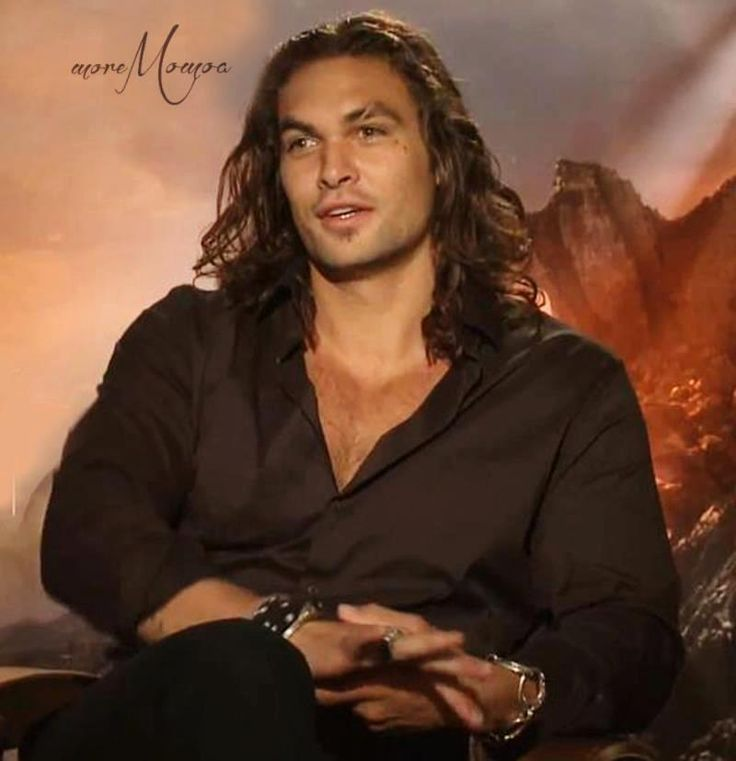 Jason Momoa 50 Shades: He's Too Pretty For Words.