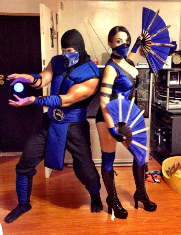 Sub-Zero & Kitana, Mortal Kombat Cosplay