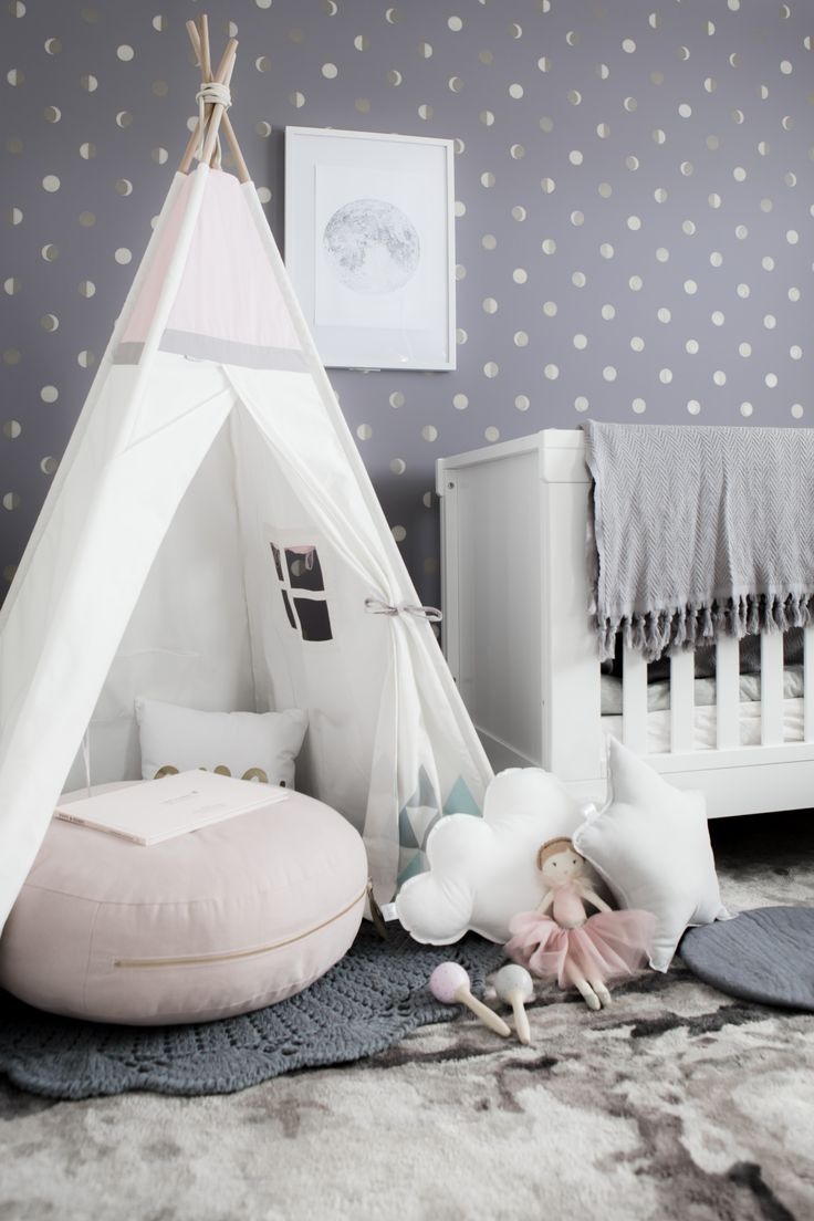 Shop our Blush Sky Teepee now! With Cotton canvas, Beech timber poles, a  Window and a Secret Pocket to store treasures. I am the perfect children's  Teepee ...